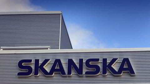 Den svenske entreprenørgiganten Skanska er blant virksomhetene som nå etterforskes i korrupsjonssaken mot Petrobras. Foto: Gorm Kallestad