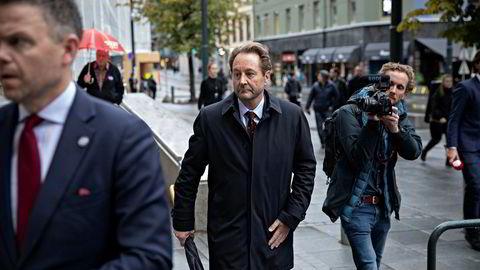 Kjell Inge Røkke forlater Oslo tingrett denne uken etter å ha vitnet i straffesaken mot torpedoen Jan Erik Iversen.