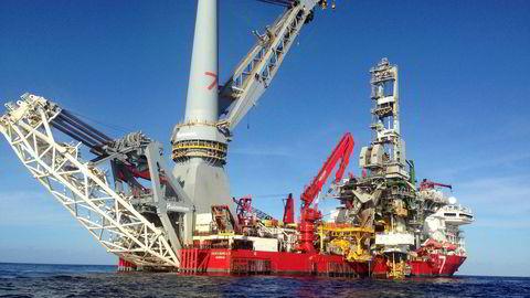 Forvalter Alexander Larstedt Lager i Arctic Fund Management har økt porteføljen sin mest i år og begrunner sitt valg av Subsea 7 med et ønske om å eksponere seg for energi. Her Subsea 7-konstruksjoner på et oljefelt i Mexicogulfen.