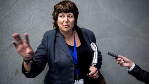 PÅ MESSE: Oljedirektør Bente Nyland har tilbrakt de siste dagene sammen med hele olje- og gassbransjen på ONS.                   Foto: Tommy Ellingsen
