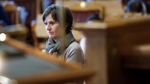 Kjersti Toppe (Sp) går helt til topps i Stortingets oversikt over hvilke politikere som har stilt flest spørsmål til regjeringen.