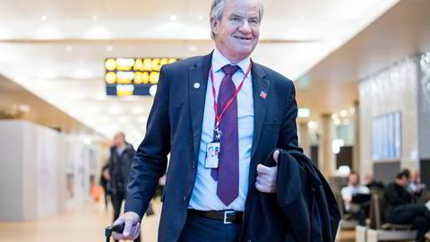 Norwegian-sjef Bjørn, her på Oslo lufthavn Gardermoen.