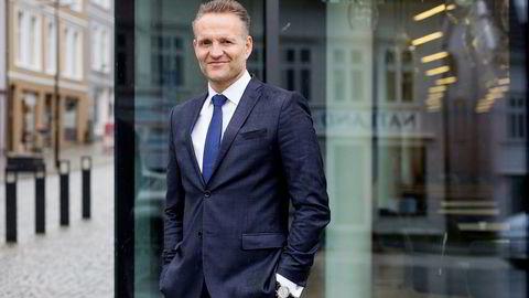 Jan Erik Kjerpeseth, konsernsjef Sparebanken Vest, bekymrer seg for at et salg av Oslo Børs til utlandet vil ramme norsk næringsliv.