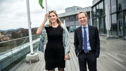 Sjefstrateg Erica Blomgren Dalstø og Robert Bergqvist i SEB tror ikke på resesjon, og frykter heller ingen langvarig lavkonjunktur.