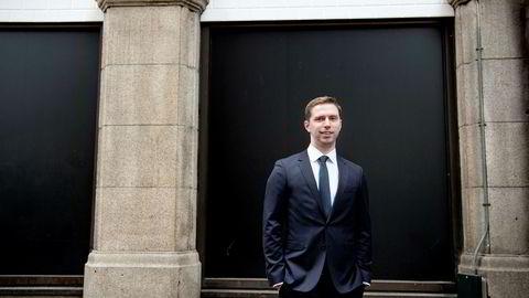 Forvalter Alexander Larstedt Lager i Arctic Fund Management tar ut DNB av ukeporteføljen.
