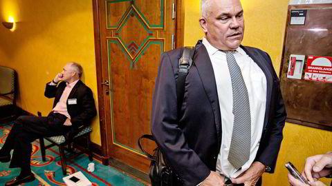 BW Offshore-sjef Carl K. Arnet forsøkte å endre på pensjonsavtalen, men fikk nei. Han fortsetter i jobben, og vil ikke si hvor lenge. Foto: Aleksander Nordahl