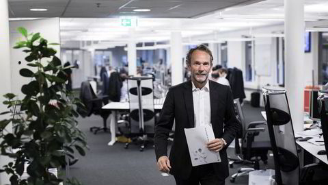 Sjeføkonom Harald Magnus Andreassen i Swedbank. Foto: CHRISTOPHER OLSSØN