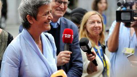 Toppjobben som president for Europakommisjonen synes å ryke for Margrethe Vestager, som i dag er EUs konkurransekommissær.