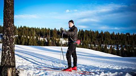 Intex-sjef Henno Grenness, her på Vangsåsen ved Hamar, sier det var et klart brudd på styreinstruksen da tidligere styreleder Jan Vestrum tjente vel 6,4 millioner på å hjelpe en storaksjonær med å selge Intex-aksjer i selskapet. Foto: Klaudia Lech