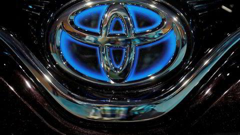 Toyota (bildet) og Panasonic inngår batterisamarbeid.