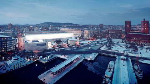 Arkitekten og Statsbygg har havnet i krangel om den lysende fasaden på den såkalte Alabasthallen i det nye Nasjonalmuseet.