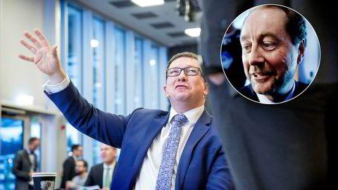 Administrerende direktør Karl Johnny Hersvik i Kjell Inge Røkke- og Aker-dominerte Aker BP tar nok et milliardjafs på sokkelen.