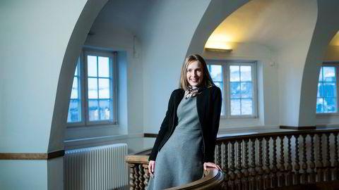 Forsknings- og høyere utdanningsminister Iselin Nybø sammenligner høyere utdannelse og forskning med en supertanker: Det tar litt tid å endre kursen.