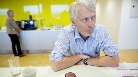 Sjeføkonom Lars Haartveit i Virke venter økt vekst i nær samtlige bransjer i varehandelen neste år. Foto: