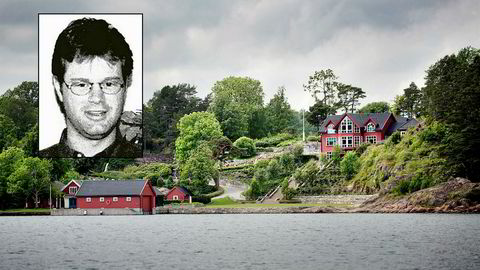 Fra sin bolig like utenfor Grimstad sentrum, tjente Einar Aas over 830 millioner kroner i fjor på trading i kraftmarkedet.