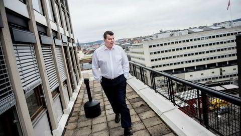 LO-leder Hans-Christian Gabrielsen roser Ap-lederen for håndteringen av bryggearbeidet på hytta.