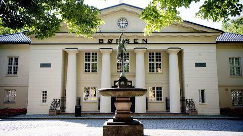Hovedindeksen på Oslo Børs endte ned 1,78 prosent mandag. Foto: Mikaela Berg