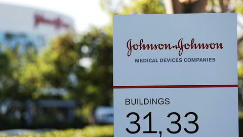 Johnson&Johnsons kontorer i Irvine, California.
