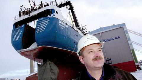 REFSER. Kimek-sjef Greger Mannsverk refser norske myndigheter. Foto: Per Ståle Bugjerde