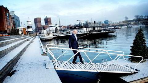 Håkon Persen Søderstrøm forvalter Danske Invest-fondene.