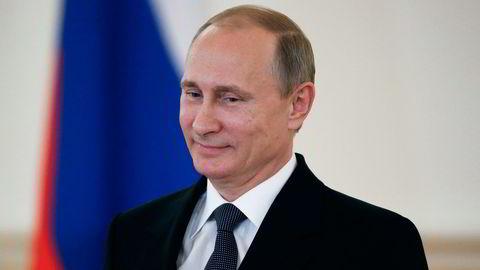 EU forlenger sanksjonene mot Russland med seks måneder. På bildet Russlands president Vladimir Putin. Foto: Sergei Karpukhin/File-Pool Photo