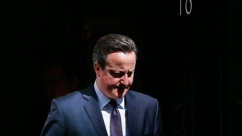 David Cameron annonserte for en måned siden at Storbritannia skal avholde folkeavstemning om landet fortsatt skal være en del av EU. OECD-økonomene er enige om at eventuell brexit vil koste dyrt. Foto: Stefan Wermuth/Reuters/NTB Scanpix