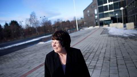 OLJEGEOLOG. Direktør Bente Nyland i Oljedirektoratet. Foto: Tomas Alf Larsen