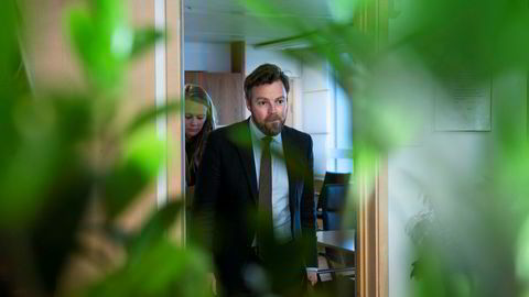 Næringsminister Torbjørn Røe Isaksen vil vite mer om gründere.