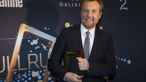 Fredrik Skavlan vant tidligere i år Gullruten for beste underholdningsprogram. Foto: Marit Hommedal/