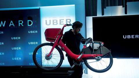 Uber ruller i stort tempo ut de karakteristiske røde elsyklene under merkenavnet Jump Bikes.