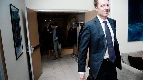 Norske Pål Kibsgaard-Petersen er toppsjef i Schlumberger. Selskapet har sammen med Golar dannet joint venturet OneLNG. Foto: Hampus Lundgren