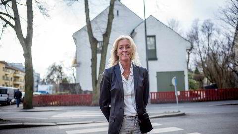 Administrerende direktør Grethe Meier i Privatmegleren er godt fornøyd med dagens boligmarked, selv om prisene faller i September.