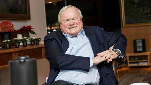 Skipsreder, forretningsmann og milliardær John Fredriksen er største aksjonær i Frontline.