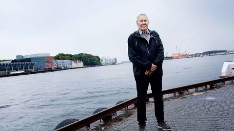 NHH-professor Atle Johnsen anses som «regnskapslovens far» i Norge Foto: Tomas Larsen