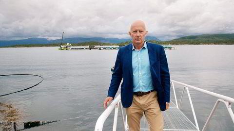 Konsernsjef Brynjar Forbergskog i transportkonsernet Torghatten kan glede seg over to kjempekontrakter. Foto: Rune Ytreberg