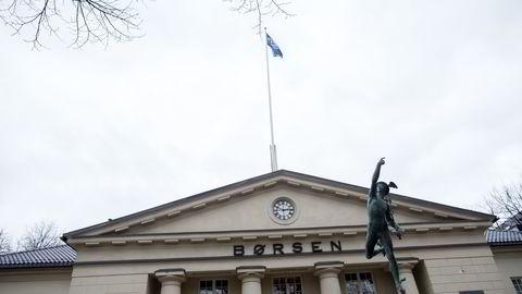 NEDTUR. Telenor og Schibsted tynget Oslo Børs fredag, mens Orkla steg etter kvartalsrapport. Foto:
