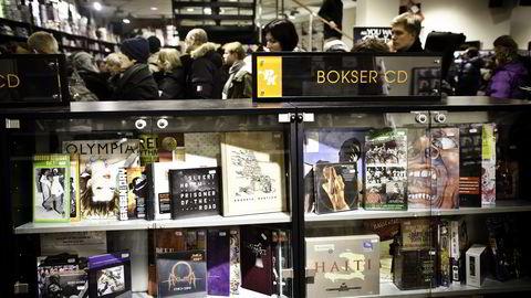 I 2012 sto cd-salget for 33 prosent av det totalte musikksalget i Norge, nå er tallet 12.