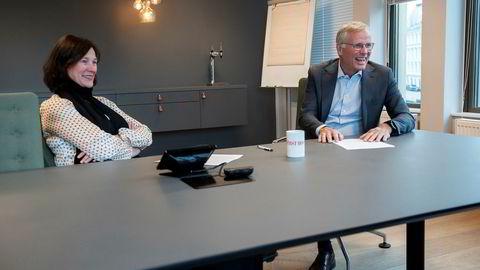 First House forteller om resultater for 2018. Per Høiby, administrerende direktør og partner sammen med Kari Holm Hejna (partner og styreleder).