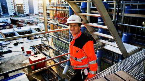 Administrerende direktørJon-Erik Lunøe i OBOS Nye hjem. Foto: Sigbjørn Sandsmark