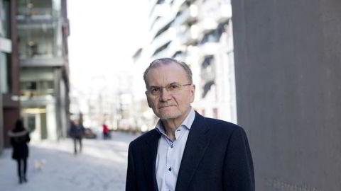Sjeføkonom Knut Anton Mork i Handelsbanken . Foto: Øyvind Elvsborg