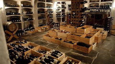 Bagatelles velfylte vinkjeller, slik den engang var. Foto: