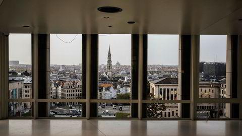 Utsikt over Brussel.