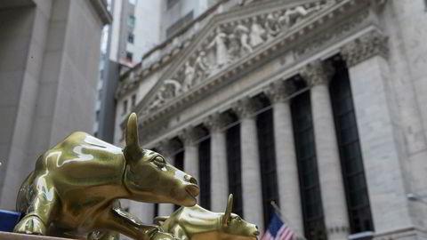 Nøkkelindeksene på Wall Street endte fredag flatt for uken samlet. Foto: AP Photo/Mary Altaffer