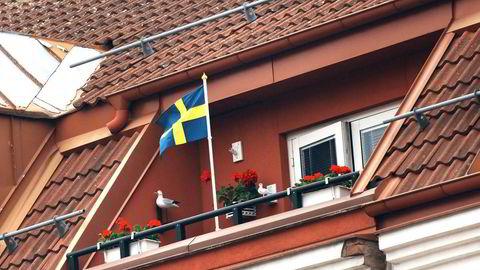 HOS NABOEN. Nordmenn er svært aktive på det svenske eiendomsmarkedet, og kjøper både hytter og utleiegårder. FOTO: Elin Høyland