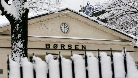 Oslo Børs. Foto: Gunnar Lier