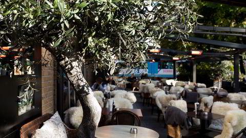 Olivia lager behagelig Middelhavsstemning i Hegdehaugsveien