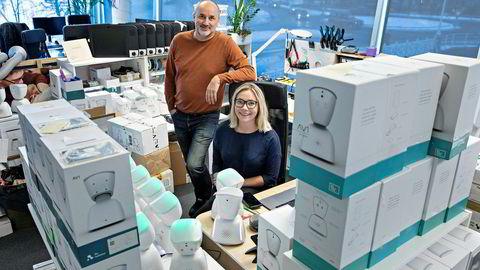 Espen Agdestein fra fondet Idekapital går inn med 20 millioner kroner, med opsjon på ytterligere 30 millioner, i No Isolation, der gründer Karen Dolva leder arbeidet med roboter som AV1 for langtidssyke skoleelever.
