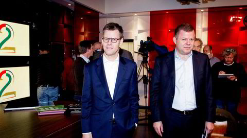 Konsernsjef Steffen Kragh og styreleder Hans J. Carstensen i Egmont har tjent 306,2 millioner kroner siden 2010.