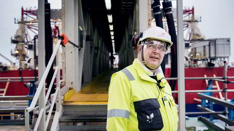 Olje- og energiminister Kjell-Børge Freiberg sier det aldri har vært et et ufravikelig krav med pengehjelp fra EU for å gå videre med CO2-rensing i Norge.