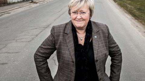 Europaminister Elisabeth Aspaker møtte fredag sjømatnæringen, som ønsker seg sjømatforhandlinger med EU.